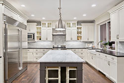 Denver Colorado marble kitchen Stone City LLC