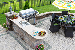 Denver Colorado outdoor bbq Granite kitchen Stone City LLC