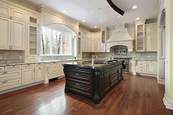 Island Colorado Granite kitchen Stone City LLC
