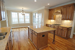 transitional Granite kitchen Stone City LLC