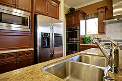 undermount sink Denver Colordao Granite kitchen Stone City LLC