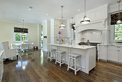 white Granite kitchen Stone City LLC